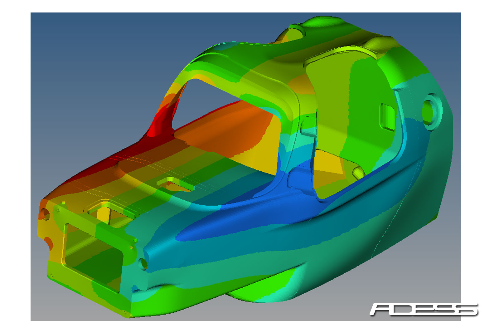 Torsional stiffness FEA calculation