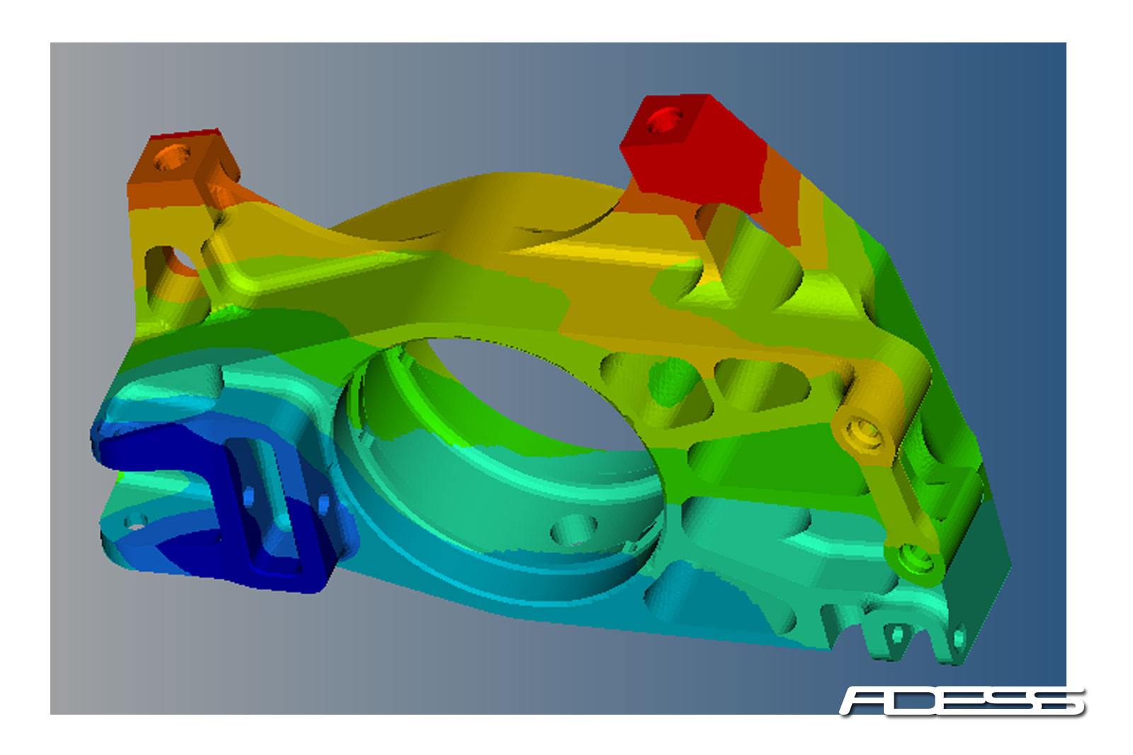 FEA Upright stress analysis